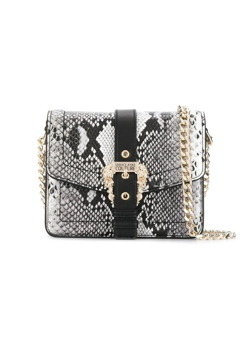Versace Pitone buckle cross body bag