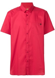 Versace plain button shirt