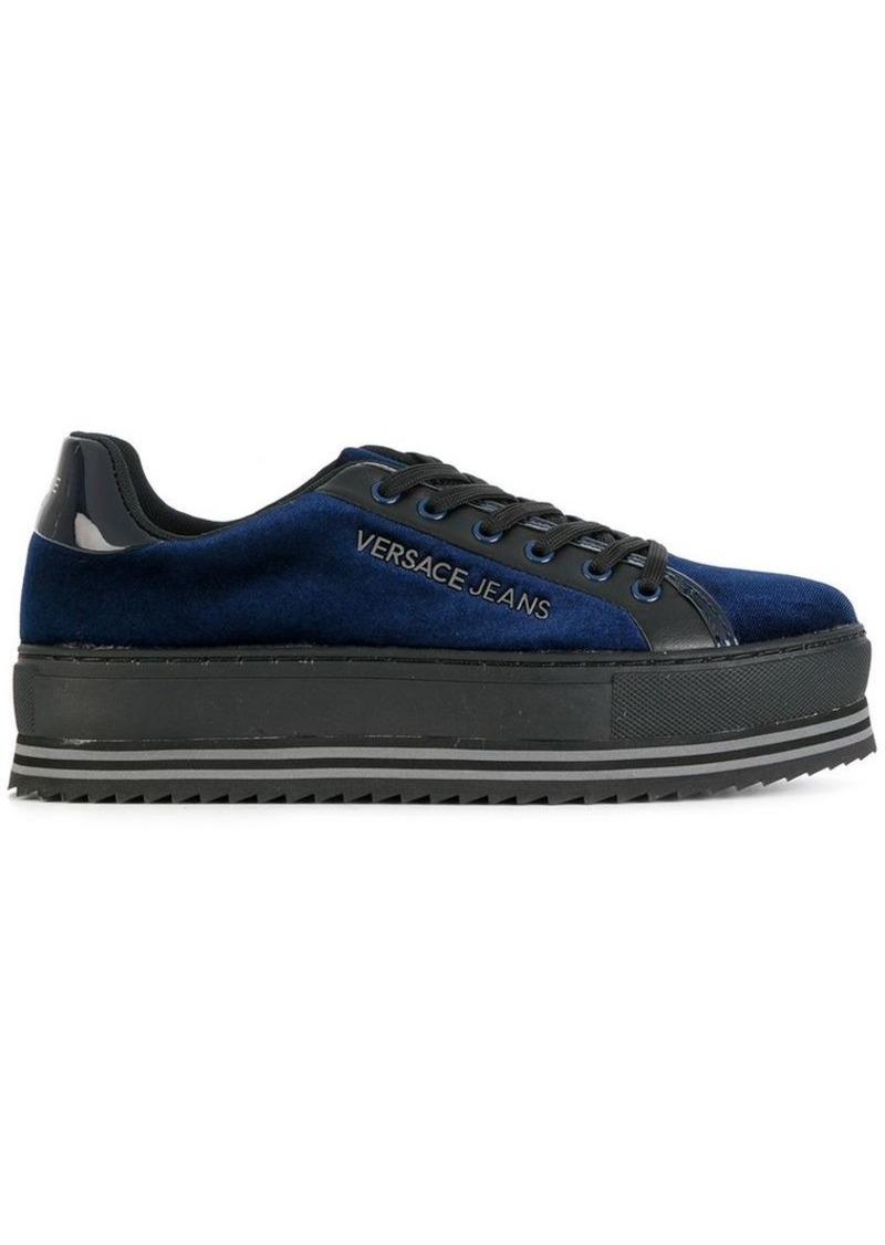 05d2a906484 SALE! Versace platform lace up sneakers