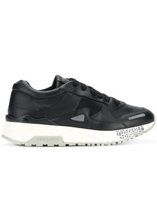 Versace platform lace-up sneakers