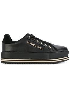 Versace platform lace up sneakers