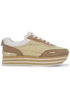 Versace platform runner sneakers