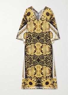 Versace Printed Cady Kaftan