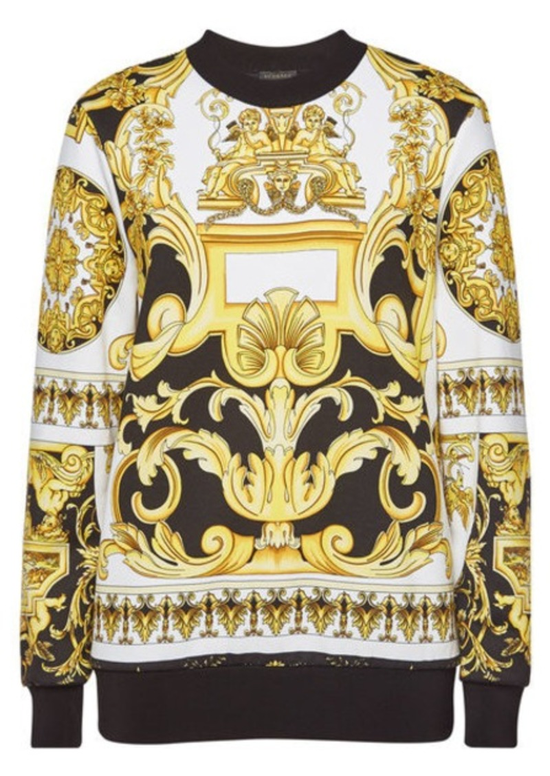Versace Printed Cotton Sweatshirt