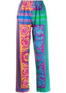 Versace printed detail lounge pants