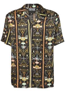 Versace Printed Fluid Shirt