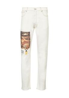 Versace Printed jeans