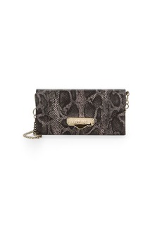 Versace Printed Leather Envelope Clutch