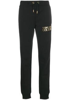 Versace printed logo track pants