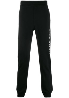 Versace printed logo track trousers