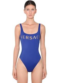 Versace Printed Lycra One Piece Swimsuit