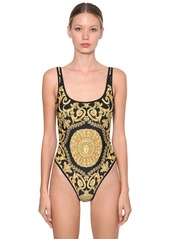 Versace Printed One Piece Swimsuit