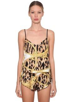 Versace Printed Pajama Tank Top