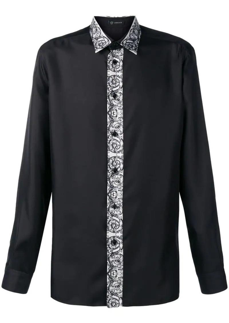 8547531c Versace printed panel shirt | Casual Shirts