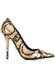 Versace printed pumps