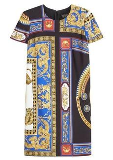 Versace Printed Shift Dress