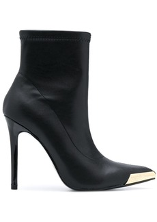 Versace pull-on stiletto ankle boots
