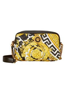Versace Quilted Classic Print Crossbody