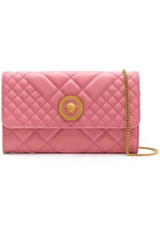 Versace quilted clutch