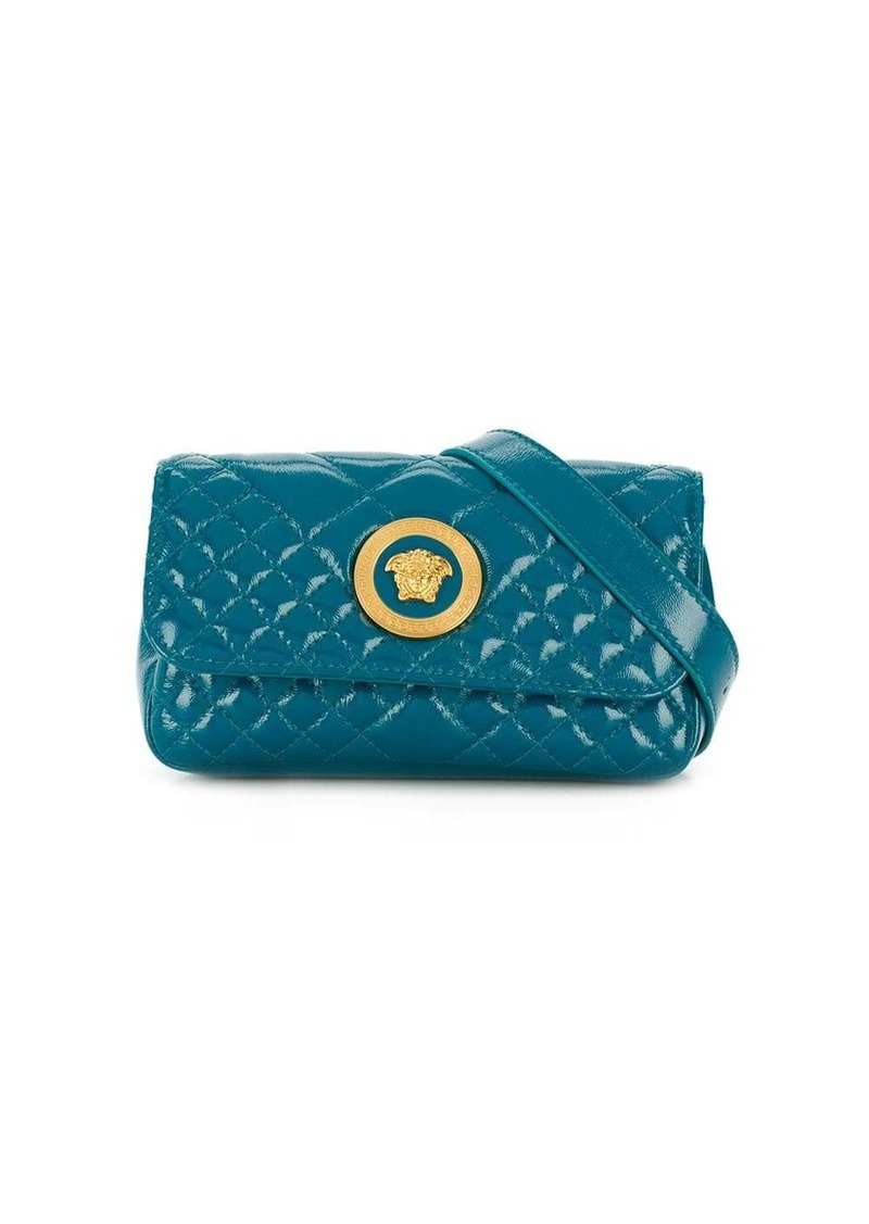 Versace quilted medusa head belt bag