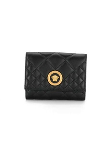 Versace Medusa quilted wallet