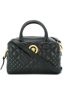 Versace quilted tote bag