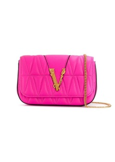 Versace quilted Virtus mini bag