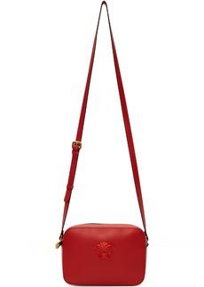 Versace Red Medusa Camera Bag