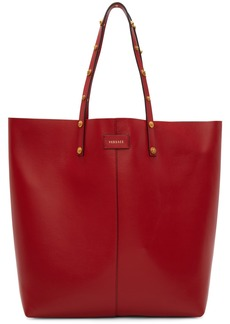 Versace Red North/South Tote