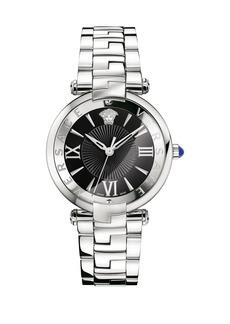 Versace Revive 35mm 3H Steel Bracelet Watch