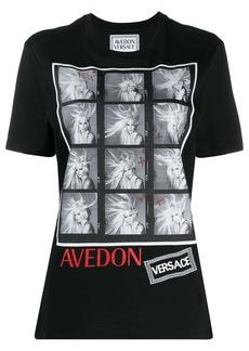 Versace Richard Avedon test print T-shirt
