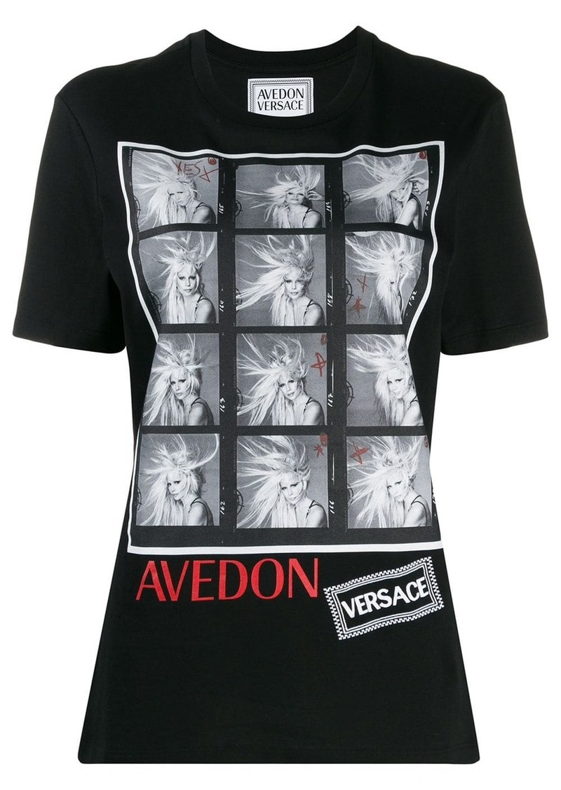 Versace Richard Avedon test T-shirt