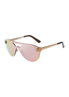 Versace Rimless Metal Sunglasses