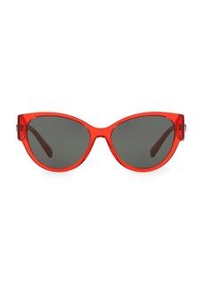 Versace Rock Icons 56MM Round Sunglasses