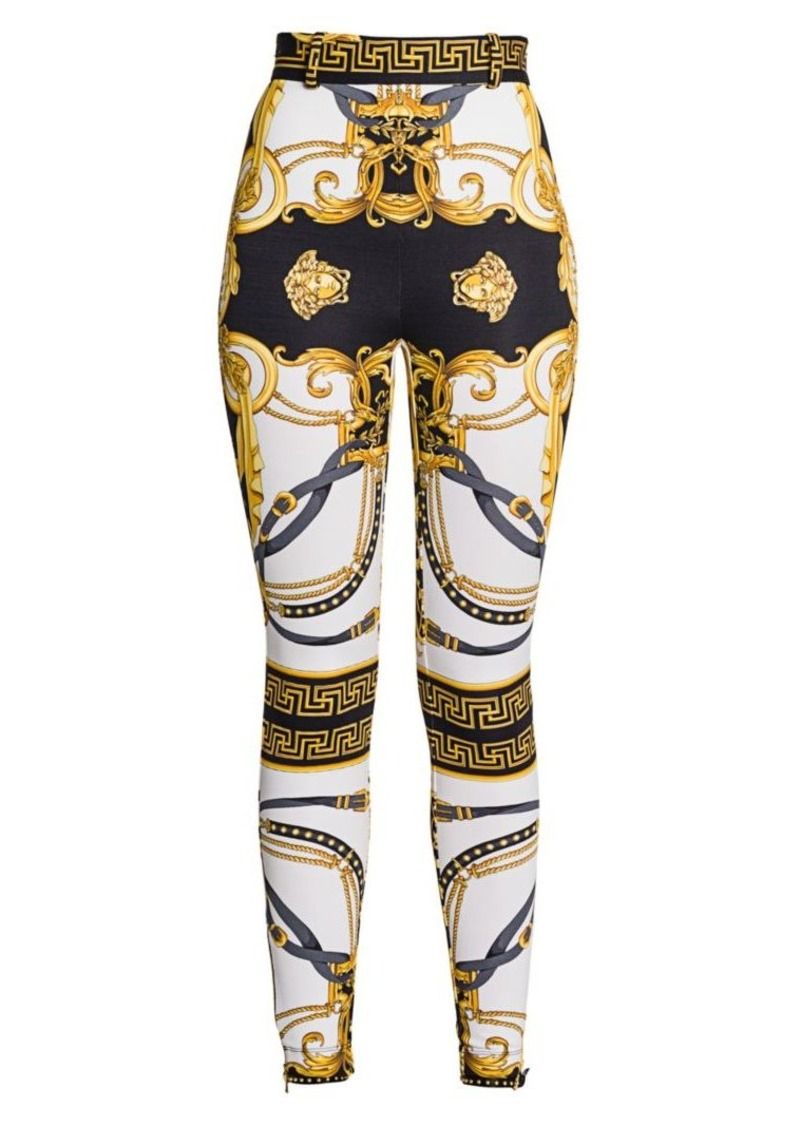 Versace Rodeo Queen Compact Jersey Pants