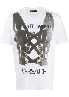 Versace safe word T-shirt