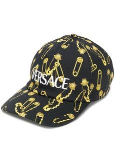 Versace safety pin cap