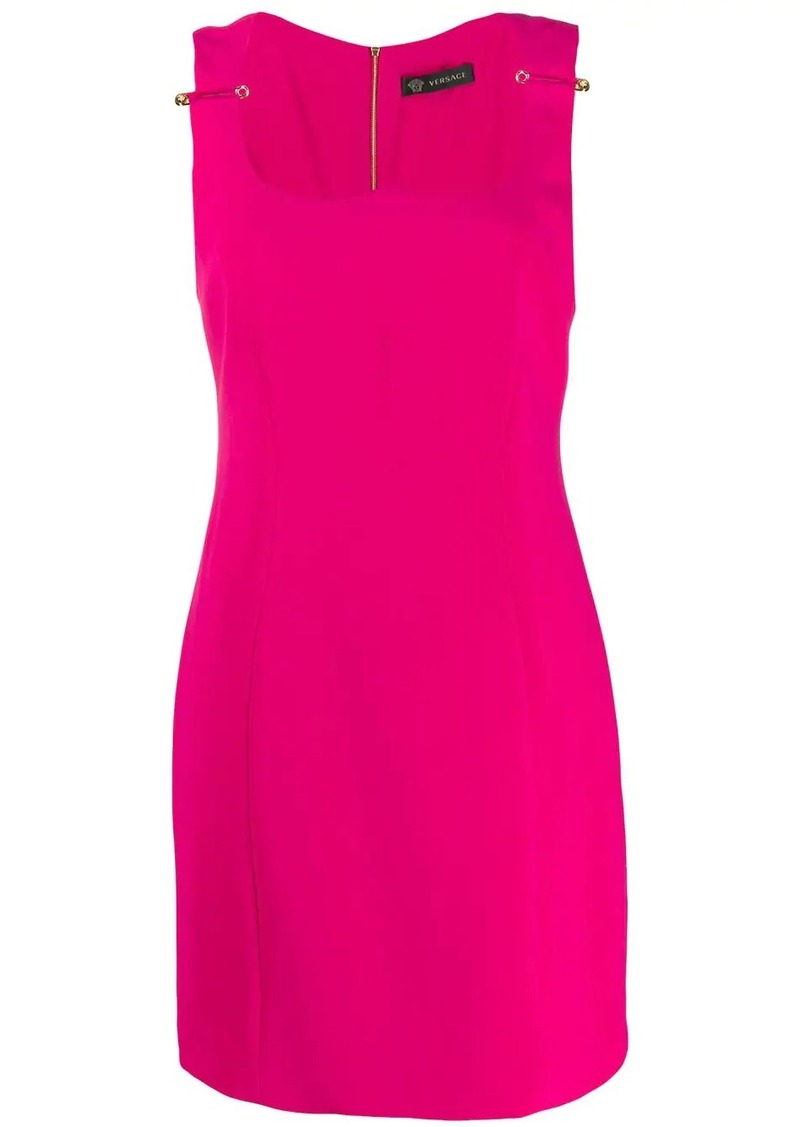 Versace safety-pin detail dress