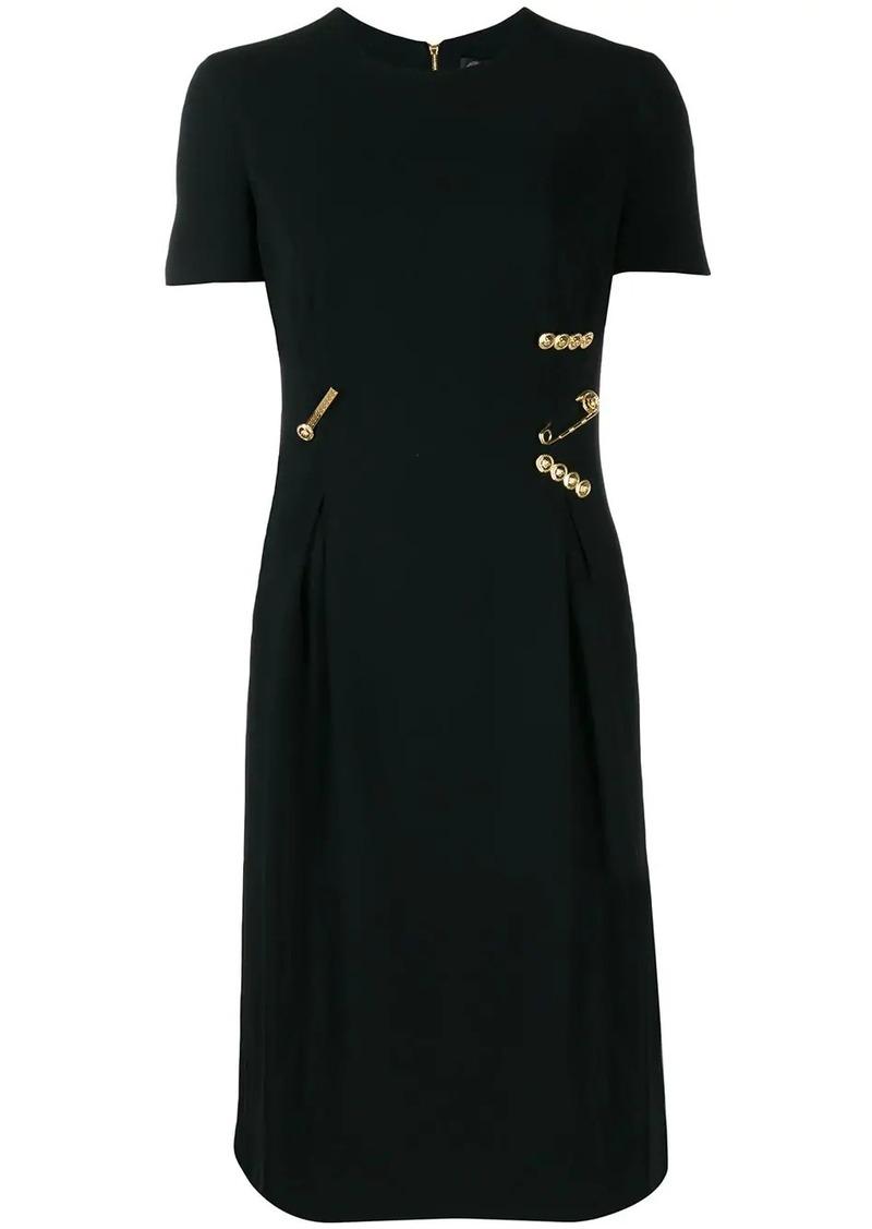 Versace safety pin dress