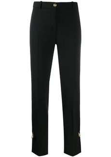Versace safety-pin tailored trousers