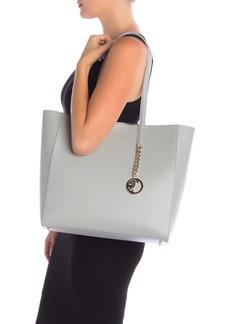 Versace Saffiano Leather Tote Bag