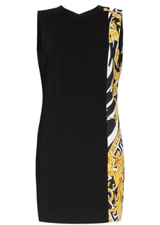 Versace Savage Barocco insert dress