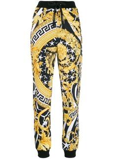 Versace Savage Barocco print track pants