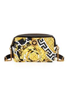 Versace Savage Baroco Leather Crossbody Bag