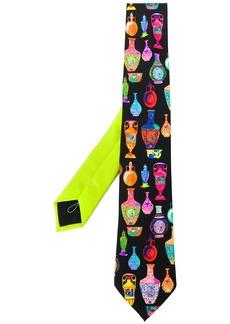 Versace Seven Vessels print tie