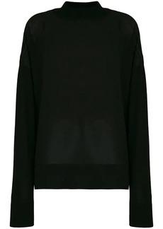 Versace sheer jumper