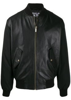 Versace shell-panelled bomber jacket