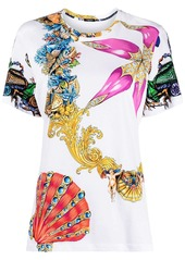 Versace shell-print T-shirt