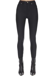 Versace Shiny Lycra Skinny Pants