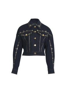 Versace Short denim jacket